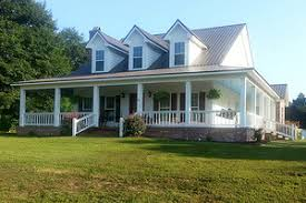 country homes with wrap around porches comfortable southern country cottage house with wrap around porch