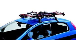 porta sci auto accessories merchandising fiat punto