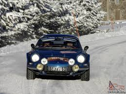 renault alpine a310 rally alpine a110 car classics