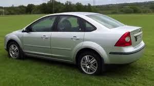 2005 ford focus ghia nt 1 6 petrol 115ps saloon manual youtube