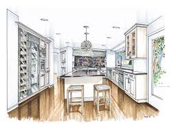 more recent kitchen renderings interiors sketches and kitchens