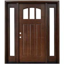 home depot wood doors interior craftsman wood doors front doors the home depot craftsman 3 lite