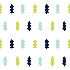 trees forest woodland camping outdoors baby boy nursery navy mint