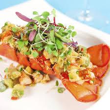 cuisine homard salade tiède de homard asperges et vinaigrette aux agrumes metro