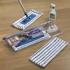 quickstep heavy duty microfibre mop cloths cleaning laminate