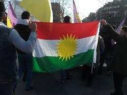 Kurdish Flag Iraq Association Of World Citizens