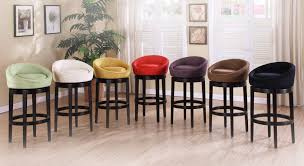 34 Inch Bar Stools Furniture Crosley 30 Inch Bar Stools In Black Finish For Kitchen