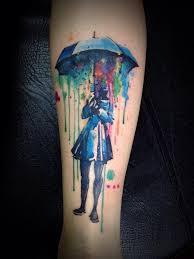 community post 28 tatouages aquarelle sublimes peinture