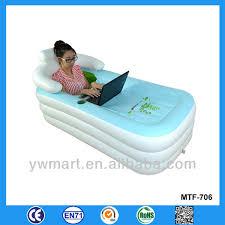 Portable Bathtub For Kids Lovey Printing Inflatable Kids Bathtub Portable Small Inflatable