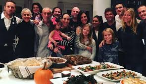 gwyneth paltrow and chris martin bond thanksgiving dinner