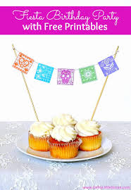 diy fiesta birthday party with free printables