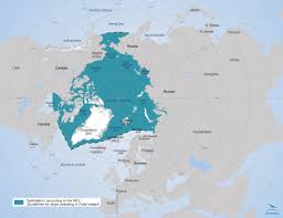 Arctic Ocean Map Map Illustrating The Delimitation According To The Imo