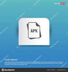 apk file extension apk file format icon stock vector ibrandify 137402118