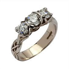 Western Wedding Rings by Pinterest Western Amazoncom Irish Wedding Rings Middle Stone