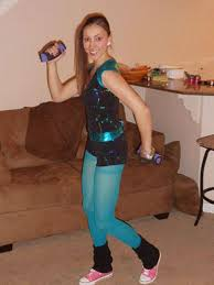 80s Workout Halloween Costume Fitness Inspired Halloween Costumes Halloween Costume Ideas