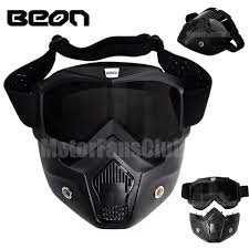 motocross goggles ebay motorcycle modular full face mask goggles nose helmet shield