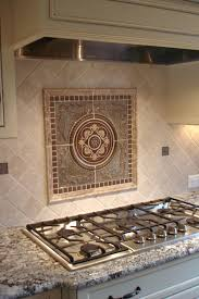 Kitchen Medallion Backsplash Metal Murals For Kitchen Backsplash Laphotos Co