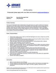 sample resume for cashier associate job description sample resume 2016 clerical duties for server