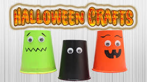 diy halloween crafts for kids how to recycle disposable cups for