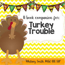 turkey trouble book companion packet by whitneyslp tpt