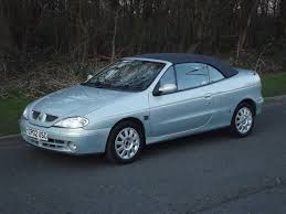 2002 renault megane cabriolet 1 6 16v low mileage electric roof