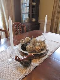 houseography tis the season dining room centerpieces