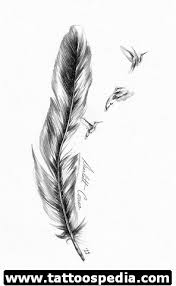 indian feather tattoo on ankle real photo pictures images and