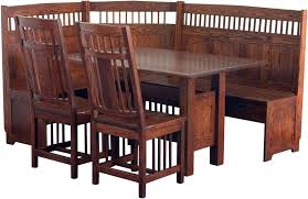 Mission Dining Room Furniture Classic Mission Dining Nook Set