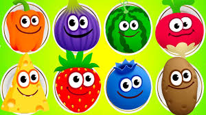 baby fun colors games play sweet color fruit u0026 vegetable to