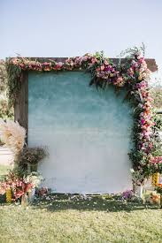 wedding backdrop quotes whimsical floral wedding at a vineyard weddingomania