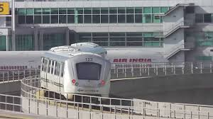 Jfk Airtrain Map Air Train At Jfk International Airport Youtube