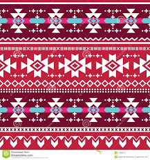 tribal aztec seamless pattern stock illustration illustration of