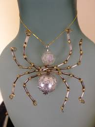Halloween Jewelry Crafts - 322 best bead spiders images on pinterest beaded spiders beaded