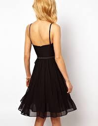 Chiffon Drape Mango Mango Chiffon Drape Bustier Dress
