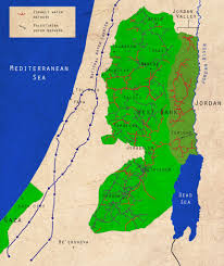 West Bank Map Maps Lifesource