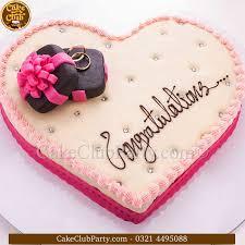 engagement cakes engagement cake ec 013