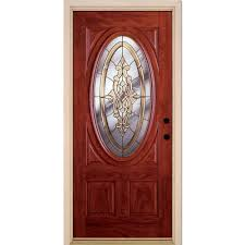 Wood Exterior Door Front Doors Exterior Doors The Home Depot