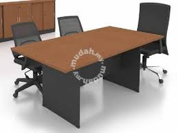 Rectangular Conference Table 8 Feet 3 Colors Professional