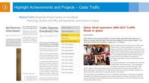 Qatar Ministry Of Interior Traffic Department Digital Proposal For Qatar Traffic Department