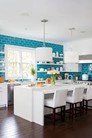 tile trends to know now coastal living in choosing the kitchen tile we wanted the all white kitchen to have a