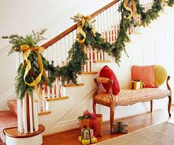 Banister Christmas Garland Holiday Garland Ideas Cafemom Mobile