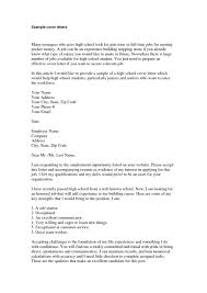 bunch ideas of how to write a cover letter for part time student