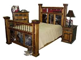 Best Cow Hide Furniture Images On Pinterest Western Furniture - Cowhide bedroom furniture