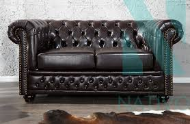 Canap Chesterfield 2 Places Canapé Chesterfield 2 Places Nativo Mobilier Design
