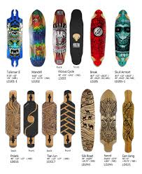 koston pro longboard deck long skateboard decks in various size