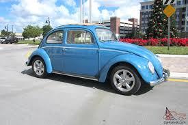 car volkswagen beetle 1959 vw beetle rare sunroof completely restored original lo