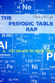 high chemistry periodic table the periodic table rap fun resources for the periodic table
