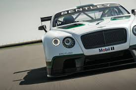 bentley gt3 bentley continental gt3 race car revealed european car