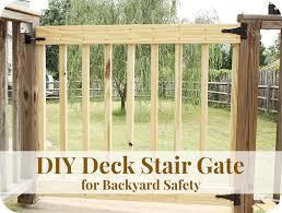 best 25 deck gate ideas on pinterest diy safety gates patio