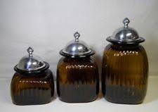 brown canister sets kitchen artland kitchen canister sets ebay